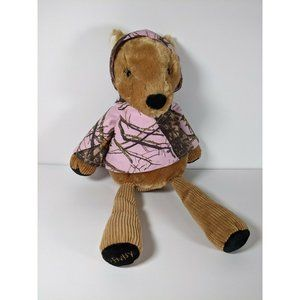 Scentsy Buddy MEADOW Deer Pink Camouflage CAMO W